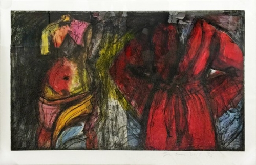 <h3><strong>JIM DINE</h3></strong><div><h3><strong><em>Yesteryear</h3></strong></em>