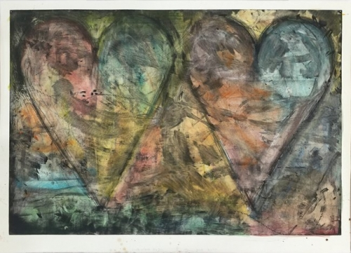 <h3><strong>JIM DINE</h3></strong><div><h3><strong><em>Watercolored by Jim</h3></strong></em>