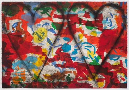 <h3><strong>JIM DINE</h3></strong><div><h3><strong><em>Lefthanded Woodcut</h3></strong></em>