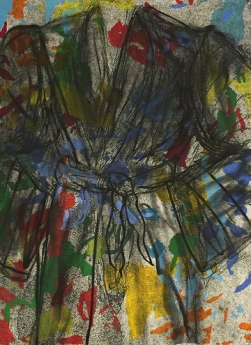 <h3><strong>JIM DINE</h3></strong><div><h3><strong><em>The Gravel Road</h3></strong></em>