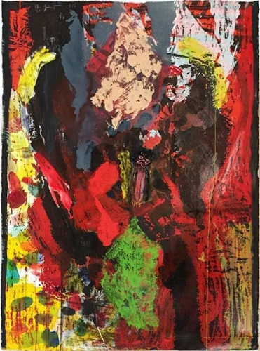 <h3><strong>JIM DINE</h3></strong><div><h3><strong><em>Long, Very Long in the Tooth</h3></strong></em>