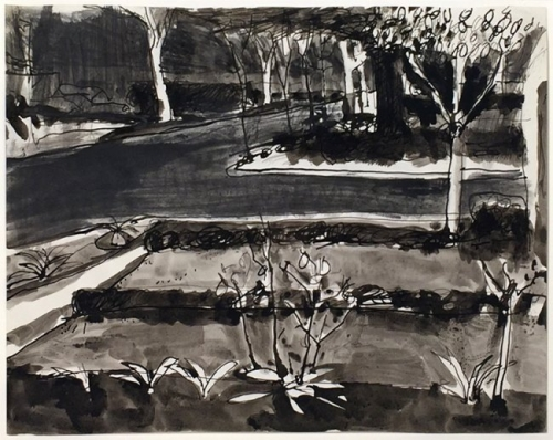 <h3><strong>RICHARD DIEBENKORN</h3></strong><div><h3><strong><em>Untitled (c.r. no. 2256)</strong></em>
