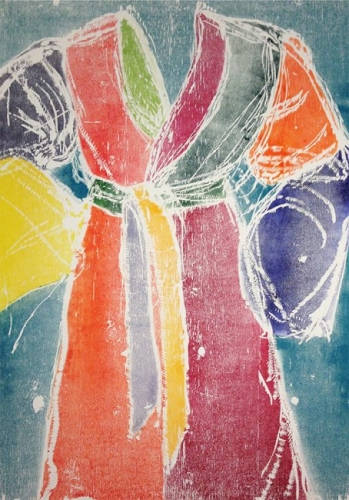 <h3><strong>JIM DINE</h3></strong><div><h3><strong><em>Ghost Robe</h3></strong></em>