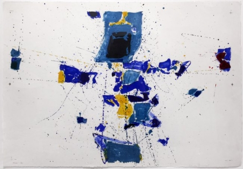 <h3><strong>SAM FRANCIS</h3></strong><div><h3><strong><em>First Stone</h3></strong></em>