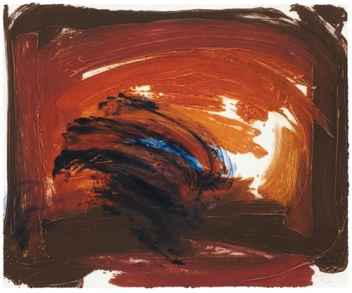 <h3><strong>HOWARD HODGKIN</h3></strong><div><h3><strong><em>Storm Cloud</h3></strong></em>