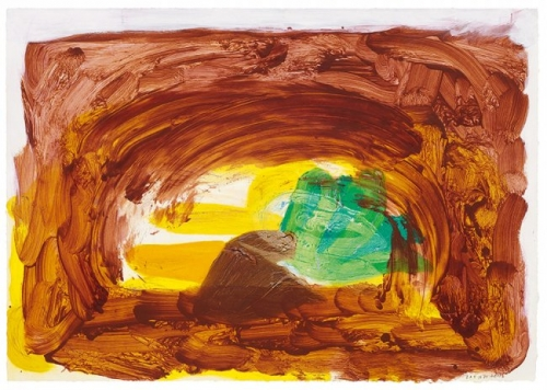 <h3><strong>HOWARD HODGKIN</h3></strong><div><h3><strong><em>Vegetable</h3></strong></em>