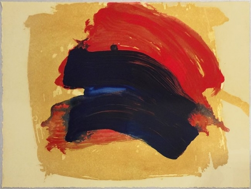 <h3><strong>HOWARD HODGKIN</h3></strong><div><h3><strong><em>Dark Rainbow</h3></strong></em>