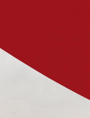 <h3><strong>ELLSWORTH KELLY</h3></strong><div><h3><strong><em>Red Curve</h3></strong></em>
