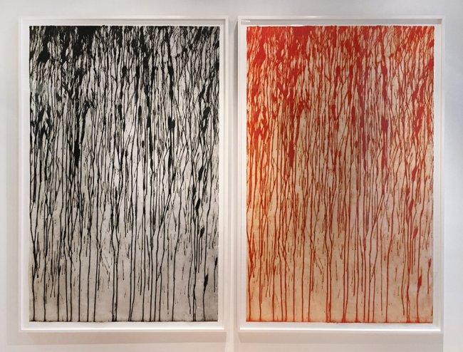 Richard-Long-Exhibition-Jonathan-Novak-Contemporary-Art-Diptych-w