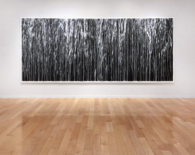 Richard-Long-Exhibition-Jonathan-Novak-Contemporary-Mississippi-River-Blues-w