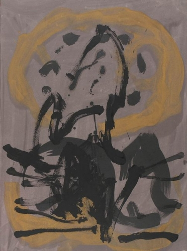 <h3><strong>ROBERT MOTHERWELL</h3></strong><div><h3><strong><em>Untitled (P77-3122)</h3></strong></em>
