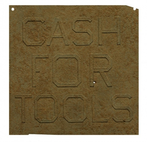<h3><strong>ED RUSCHA</h3></strong><div><h3><strong><em>Rusty Signs – Cash For Tools 2</h3></strong></em>