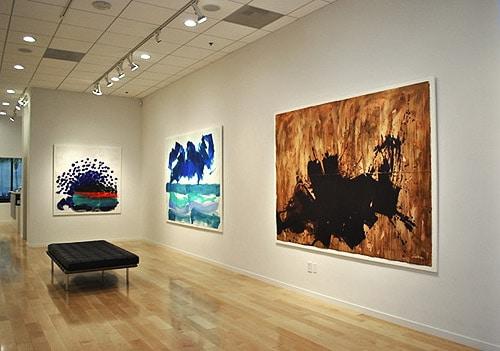 Howard Hodgkin Exhibition Gallery Shot