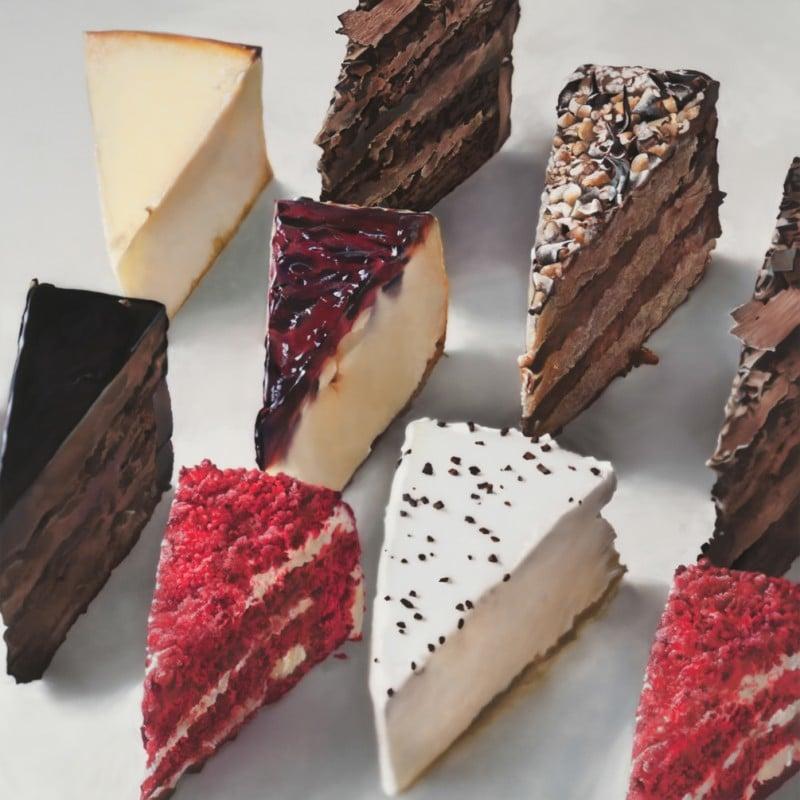 Ben Schonzeit - Cake Slices