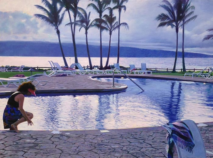 Jack Mendenhall - Twilight at Kapalua