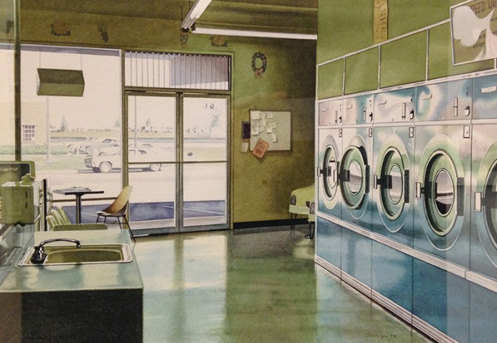 Ralph_Goings_Laundry_Interior_Watercolor_Painting