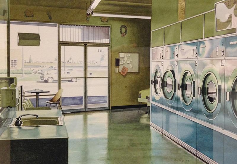 Ralph Goings - Laundry Interior