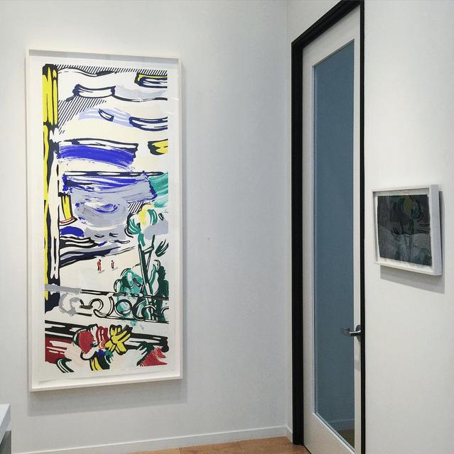 Lichtenstein View from Window and Sam Messenger Veil from Ketos