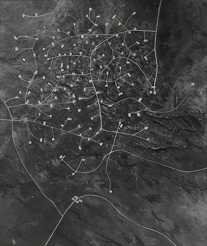 Oil Field Aerial