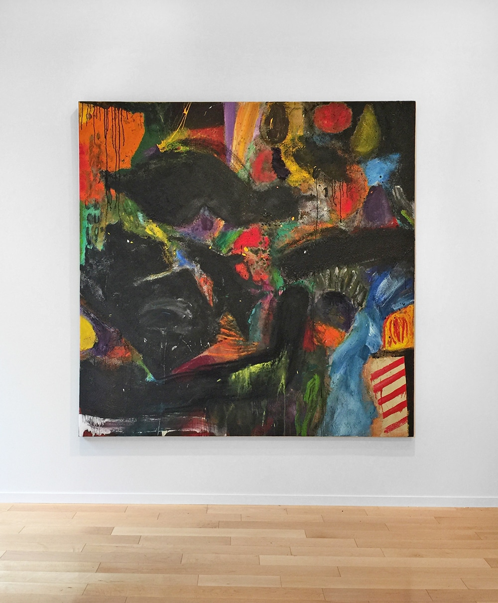 Jim Dine - Abstraction 2a