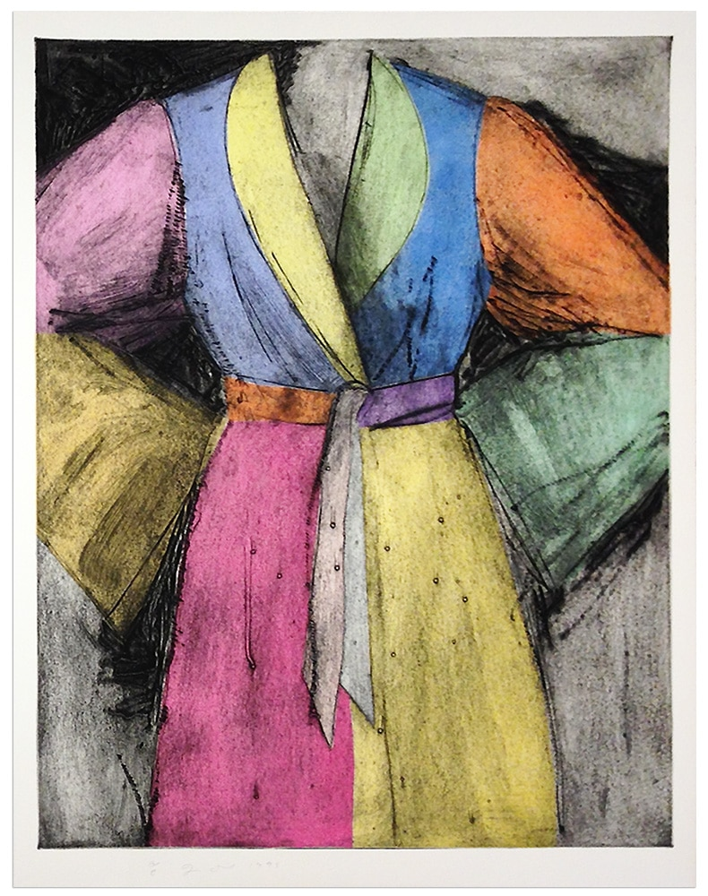 jim dine bathrobe