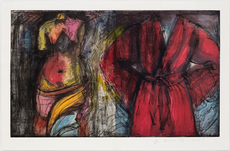 Jim Dine Venus and Robe Print