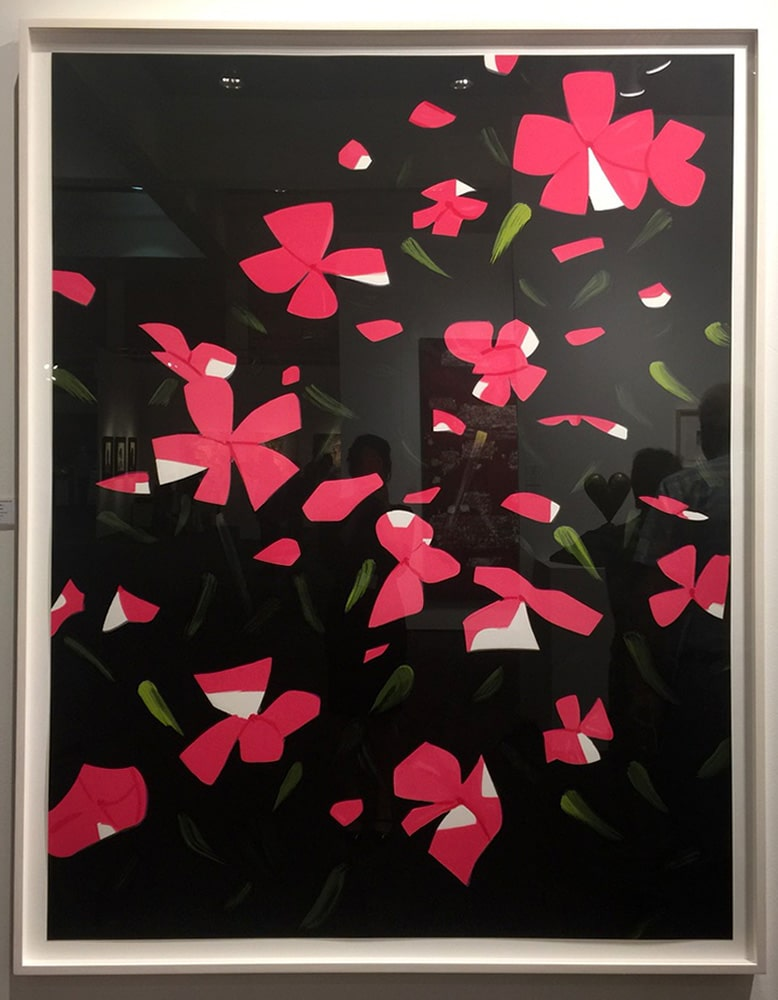 Alex Katz - White Impatiens