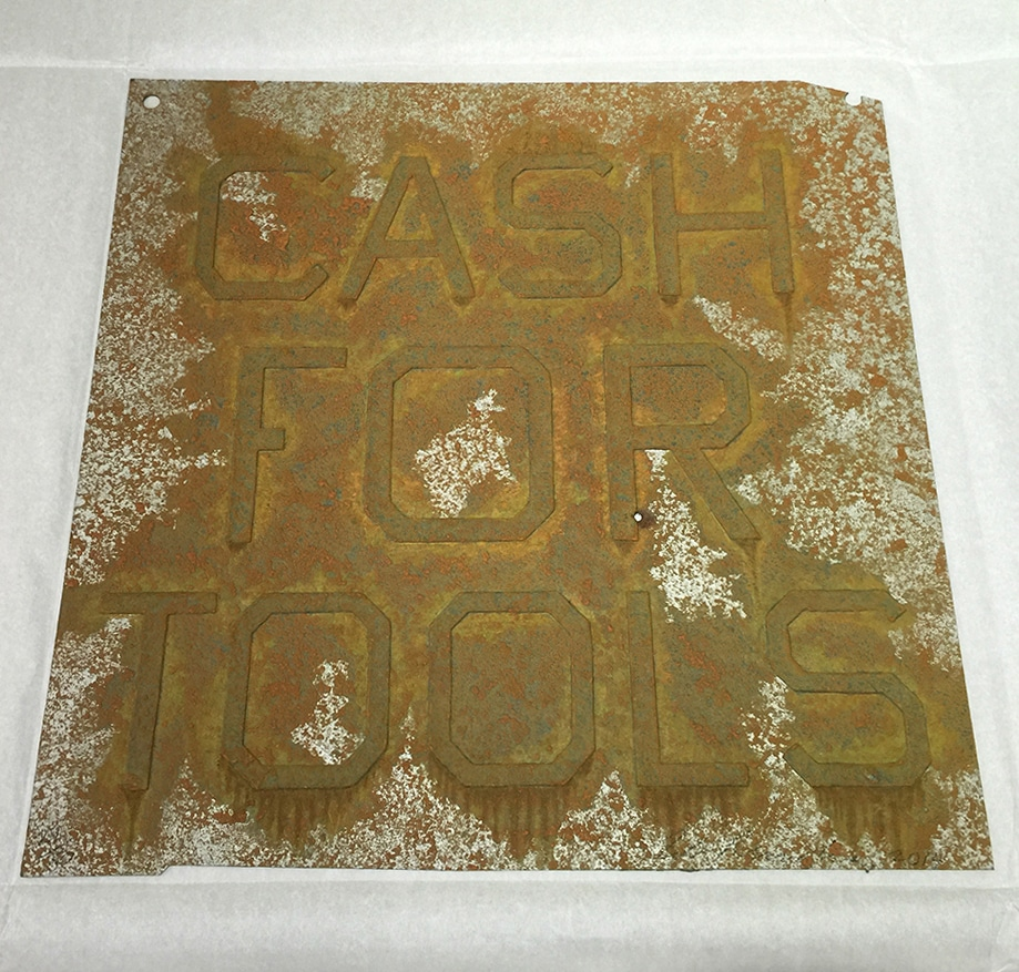 Ed Ruscha - Cash for Tools 2