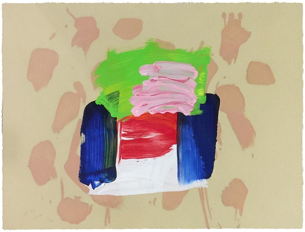 Howard Hodgkin Abstract Print Pastel Colors