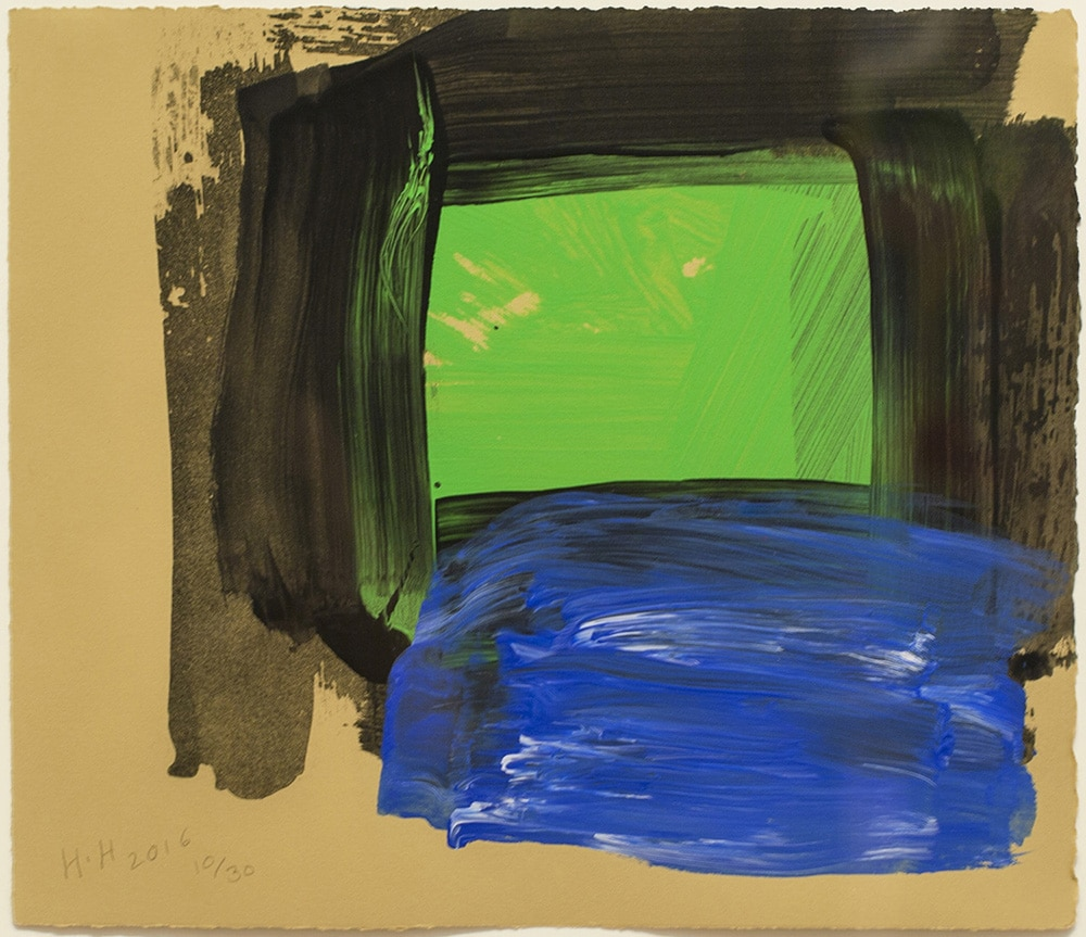 Howard Hodgkin - Springtime