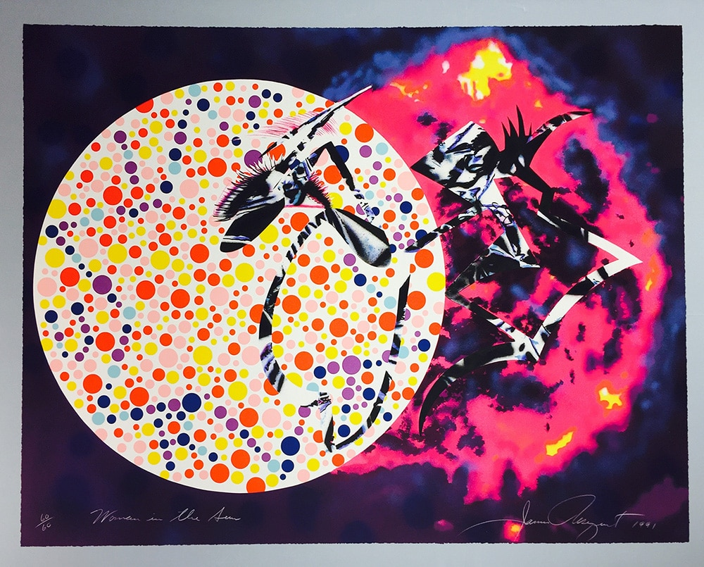 James Rosenquist Woman in the Sun