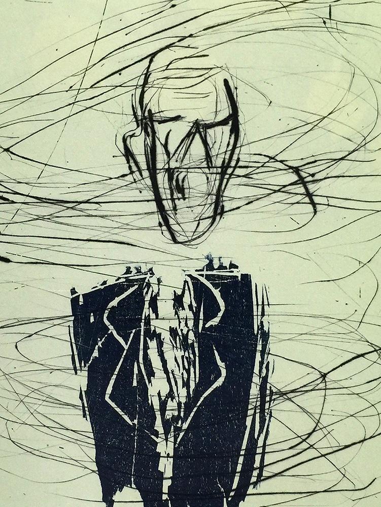 Susan Rothenberg - Breath Man