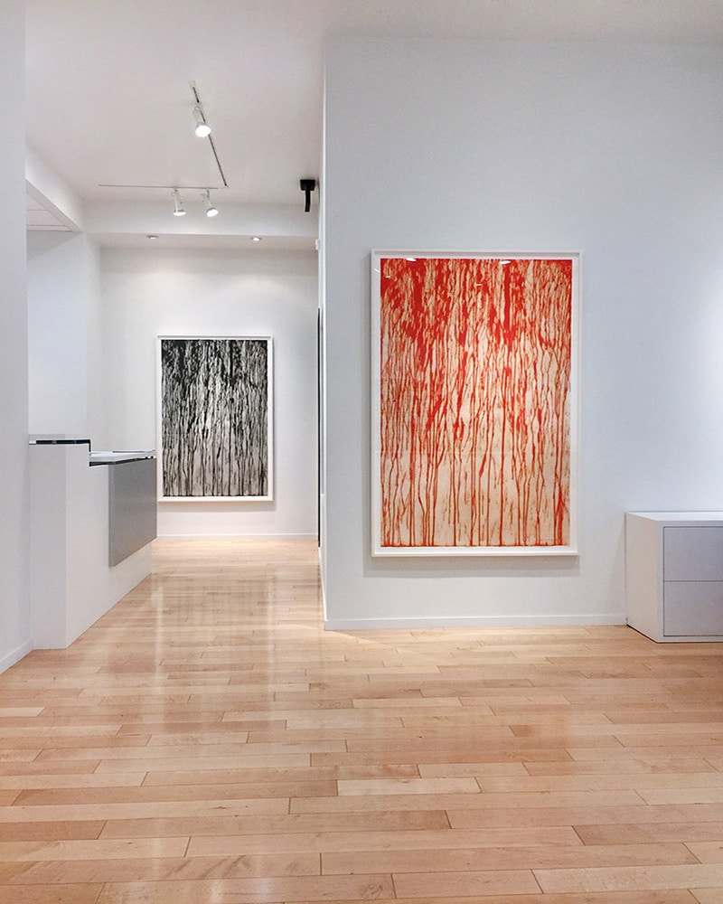 learn about the gallery - richard long exhibition photograph