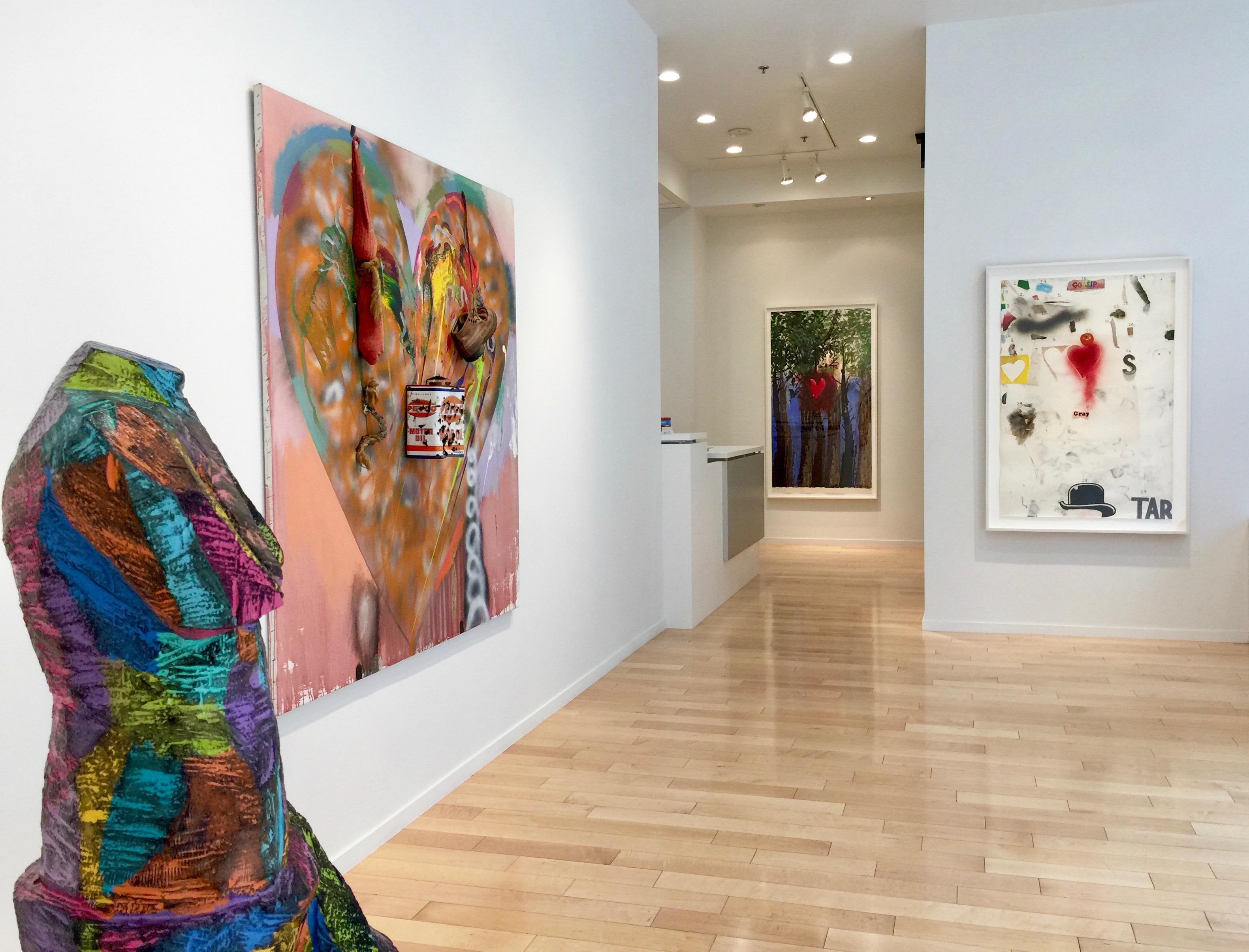 Jonathan Novak Contemporary Art gallery installation photo