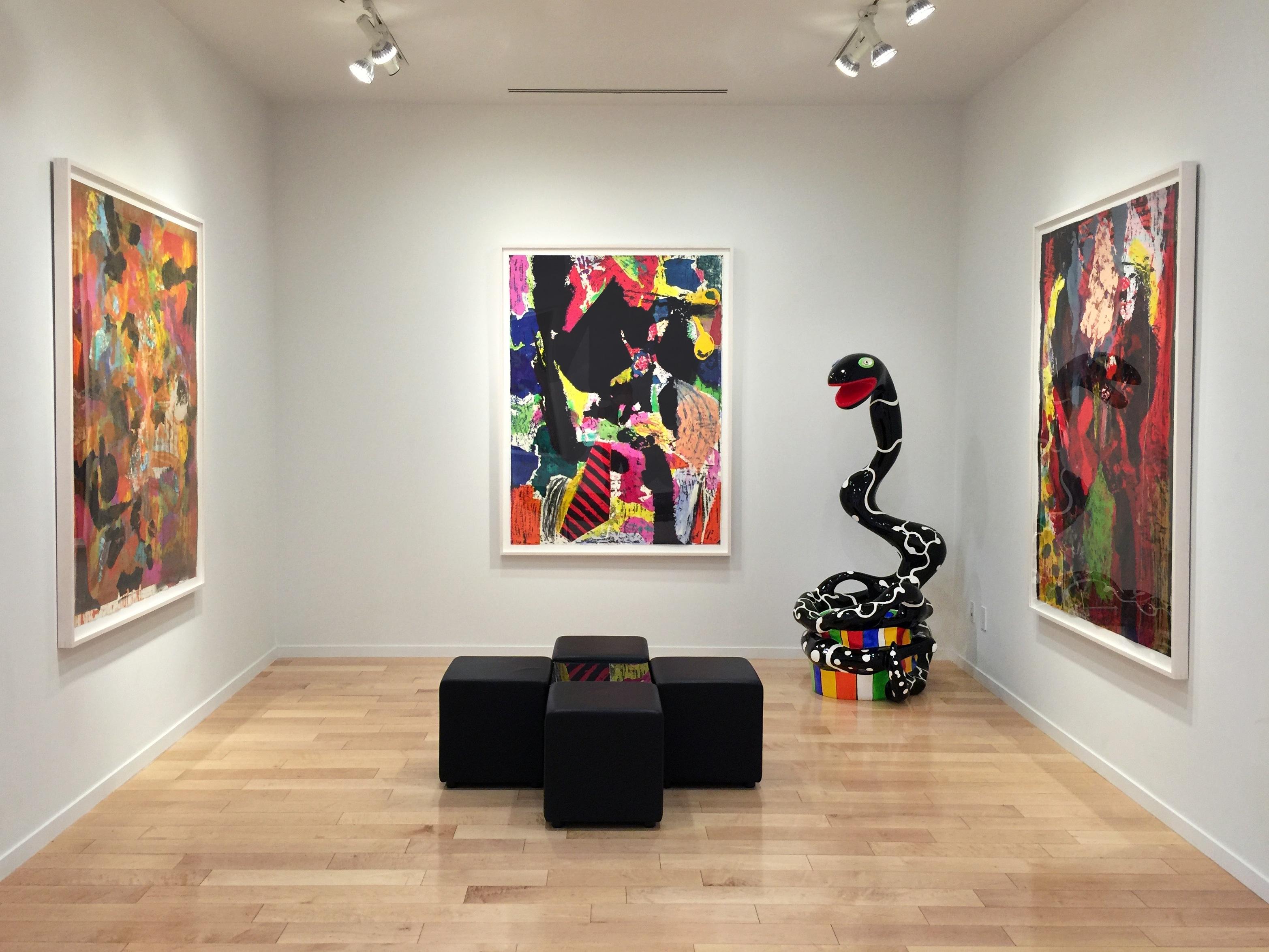 Jim Dine Niki de Saint Phalle Jonathan Novak Contemporary Art