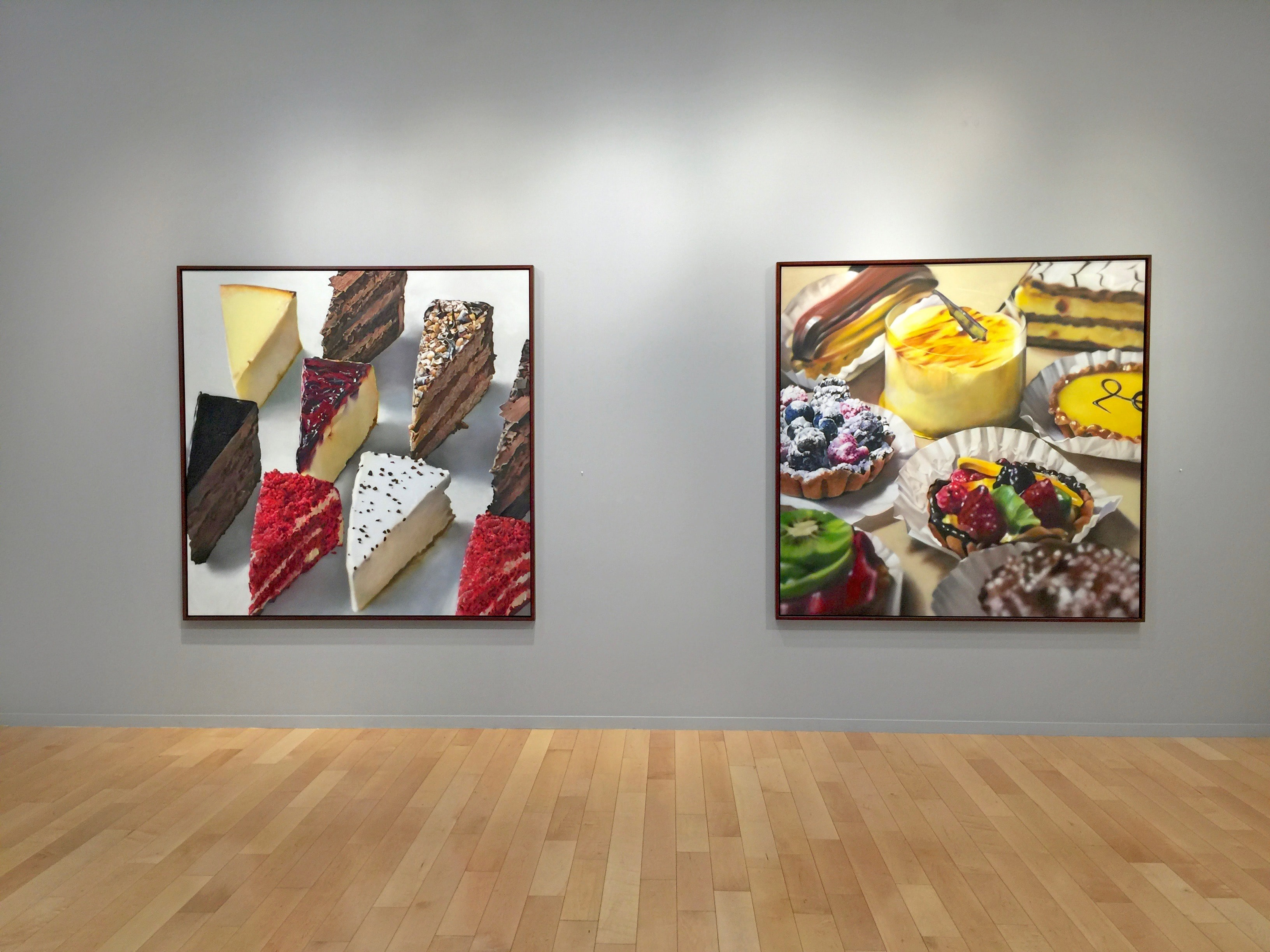 Ben Schonzeit Photorealist Paintings of Cake and Pastries