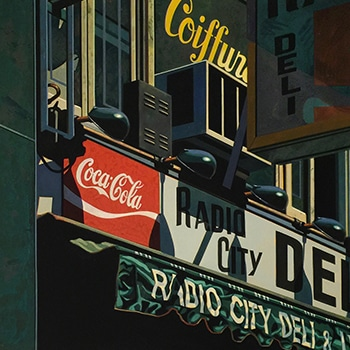 robert cottingham painting