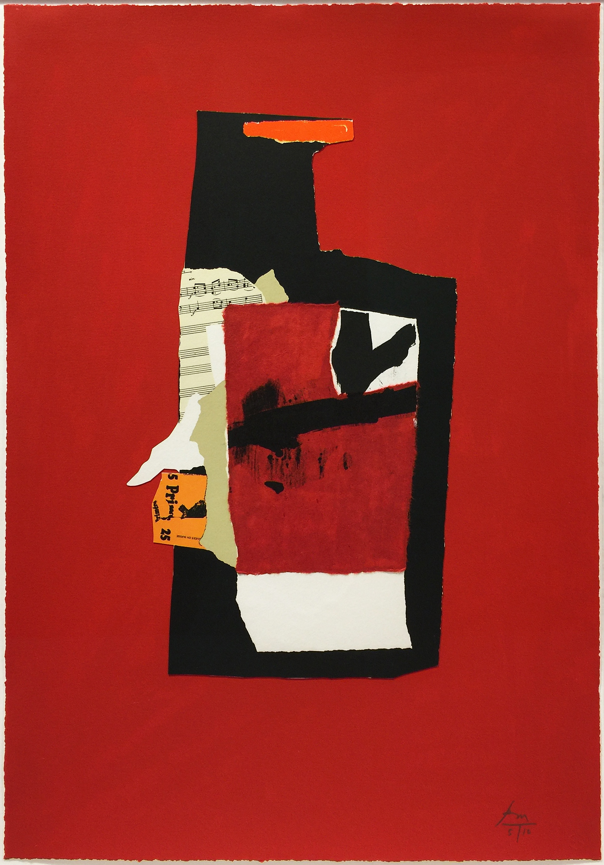 Robert Motherwell - Redness of Red (State I)