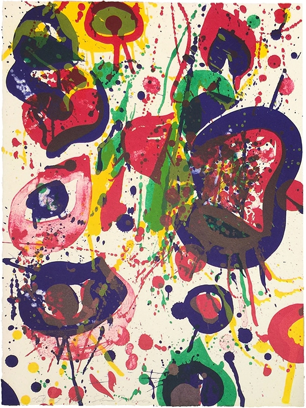sam francis prints