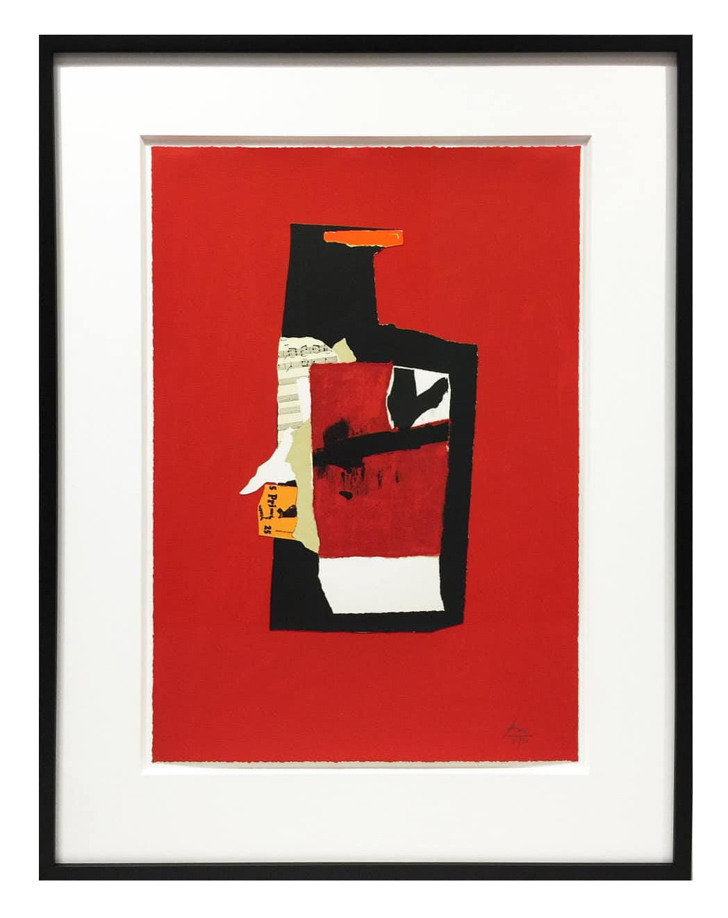 Robert Motherwell - Redness of Red Framed