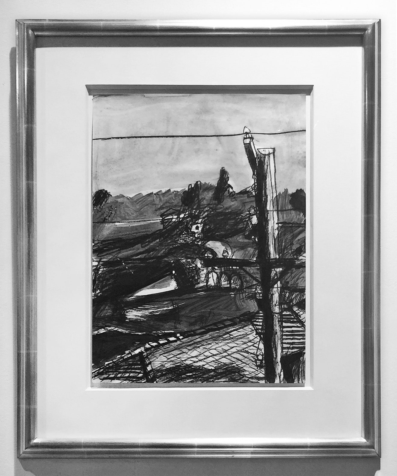Richard Diebenkorn - Landscape (Framed)