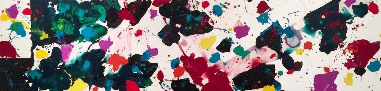 Sam Francis Canvas 1980