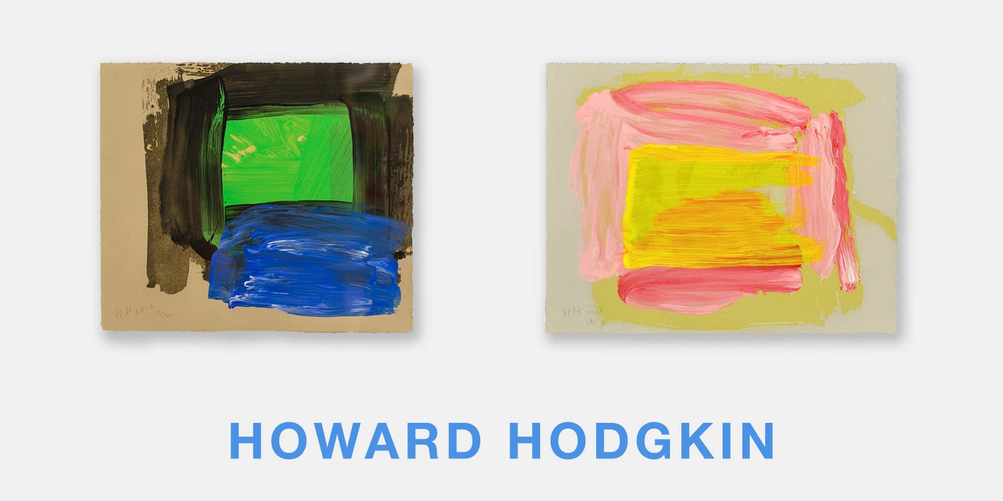 Howard Hodgkin Ad Palm Springs