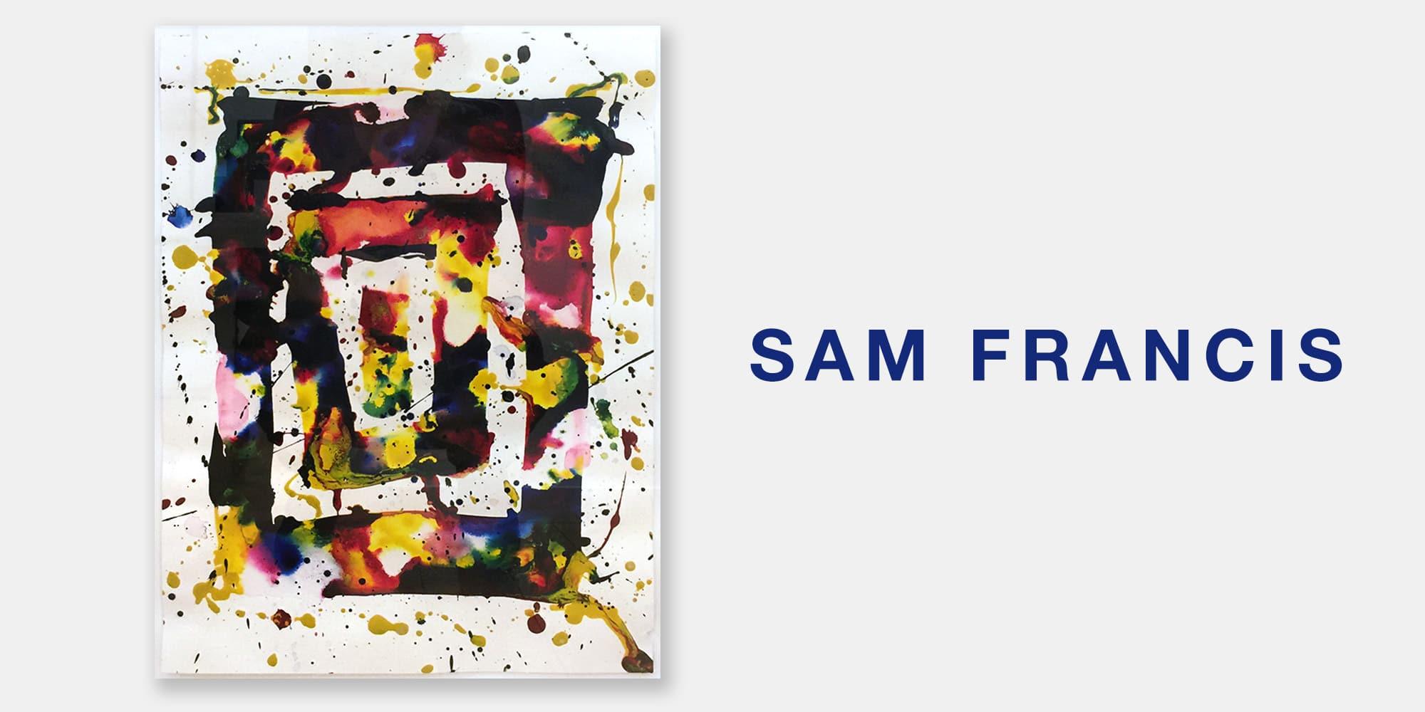 Sam Francis Ad Palm Springs