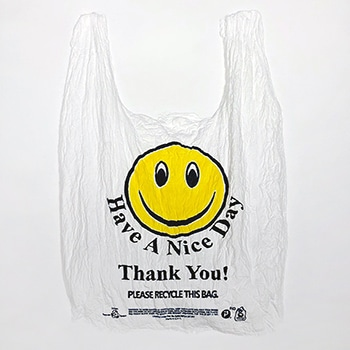 Analia Saban 3d Print Smiley Face Plastic Bag
