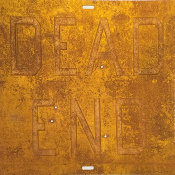 ed ruscha rusty signs dead end 2