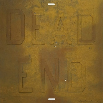 ed ruscha rusty signs dead end 3