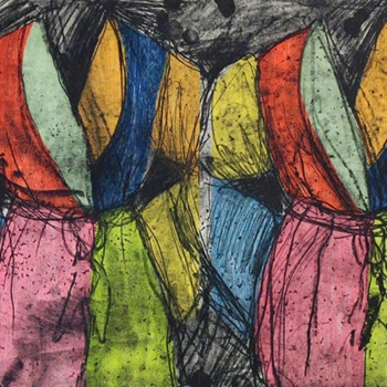 jim dine the soft ground print
