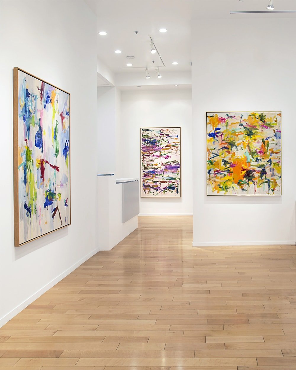 view past and present exhibitions - howard hodgkin & frank stella picture