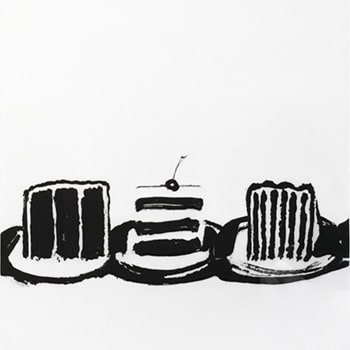 Wayne Thiebaud Cut Cakes Print
